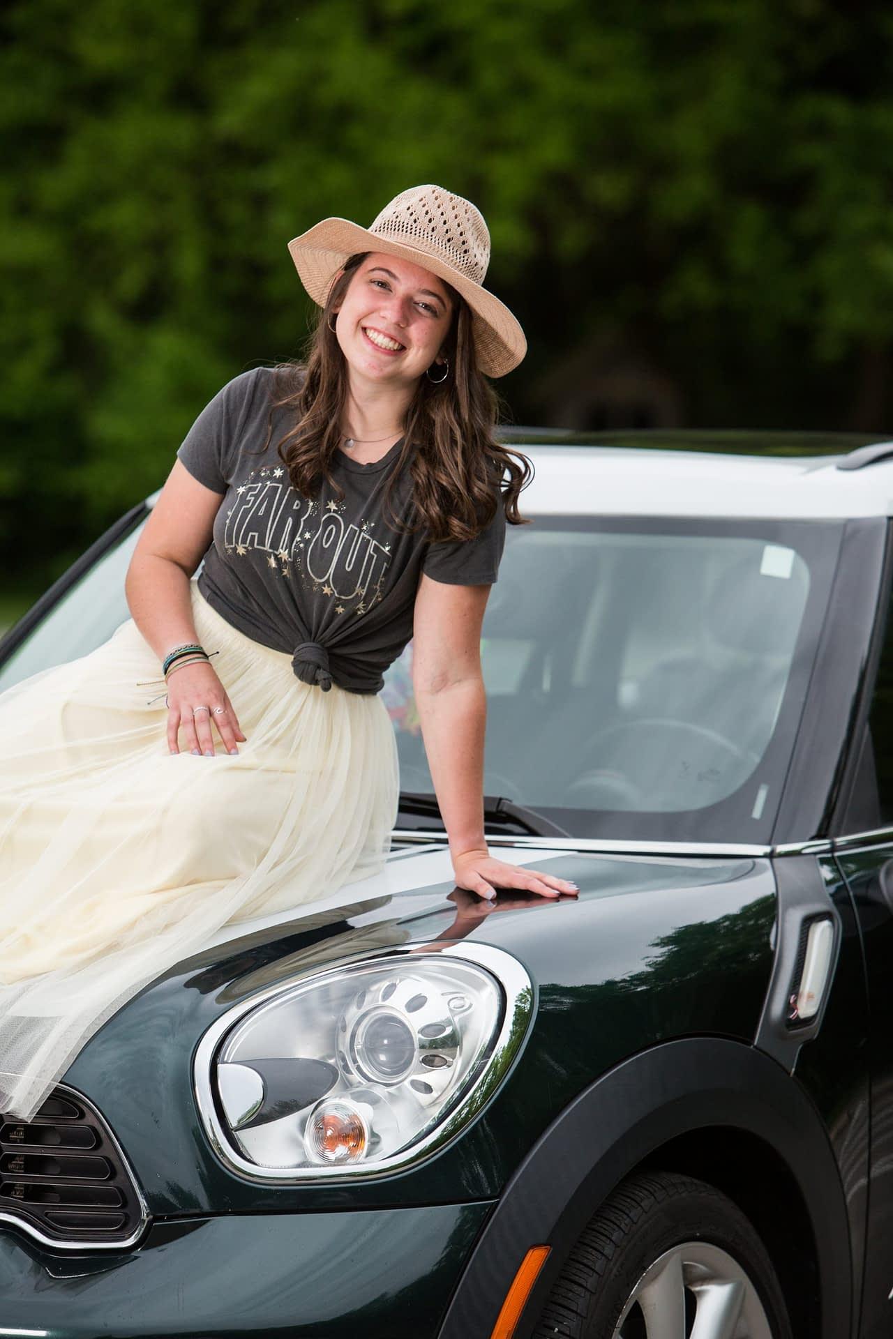 Senior Photo of Noblesville High School Tennis Player, Sarah